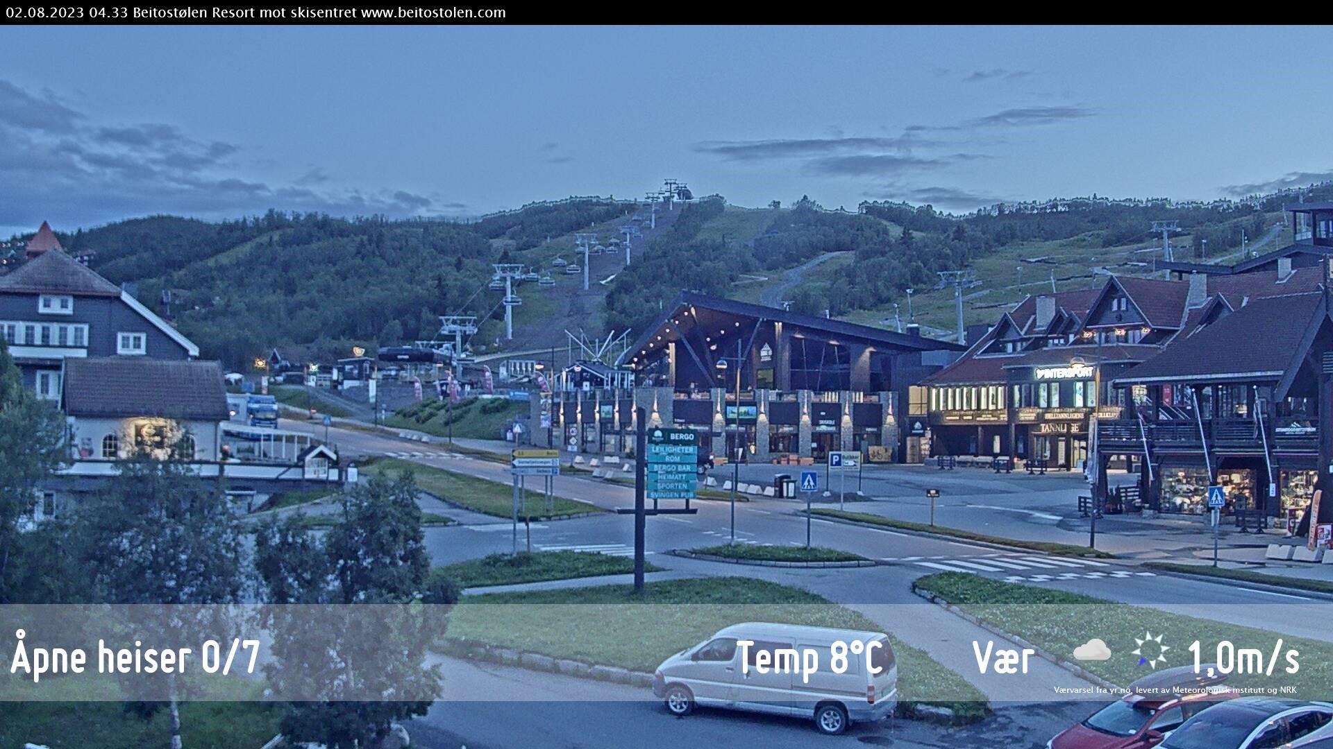 Webcam de la Estación de Esquí de Beitostølen